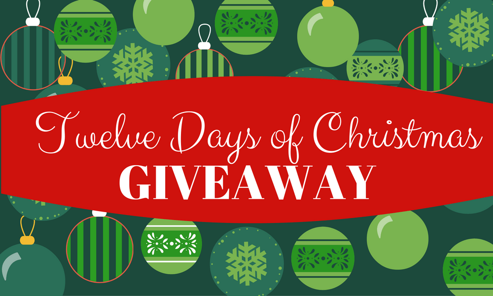 12 Days of Christmas Giveaways graphic