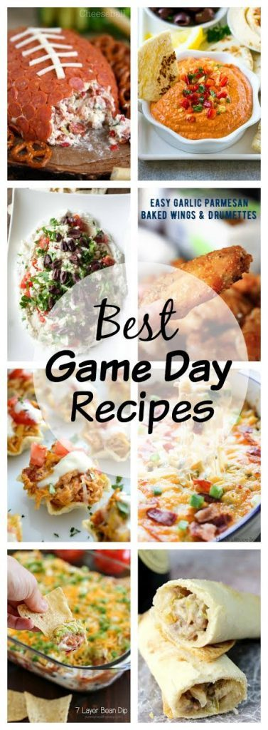 Best Game Day Recipes photo collage