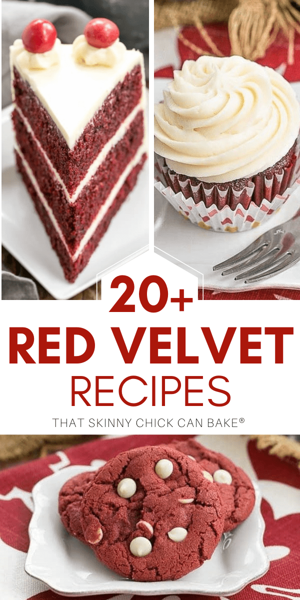 Best red velvet recipes photos and text collage