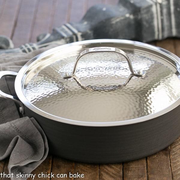 Lagostina round adonized casserole pan