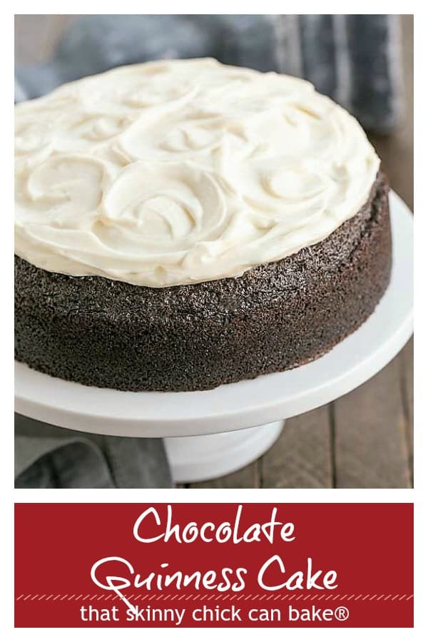 Chocolate Guinness Cake Pinterest Collage