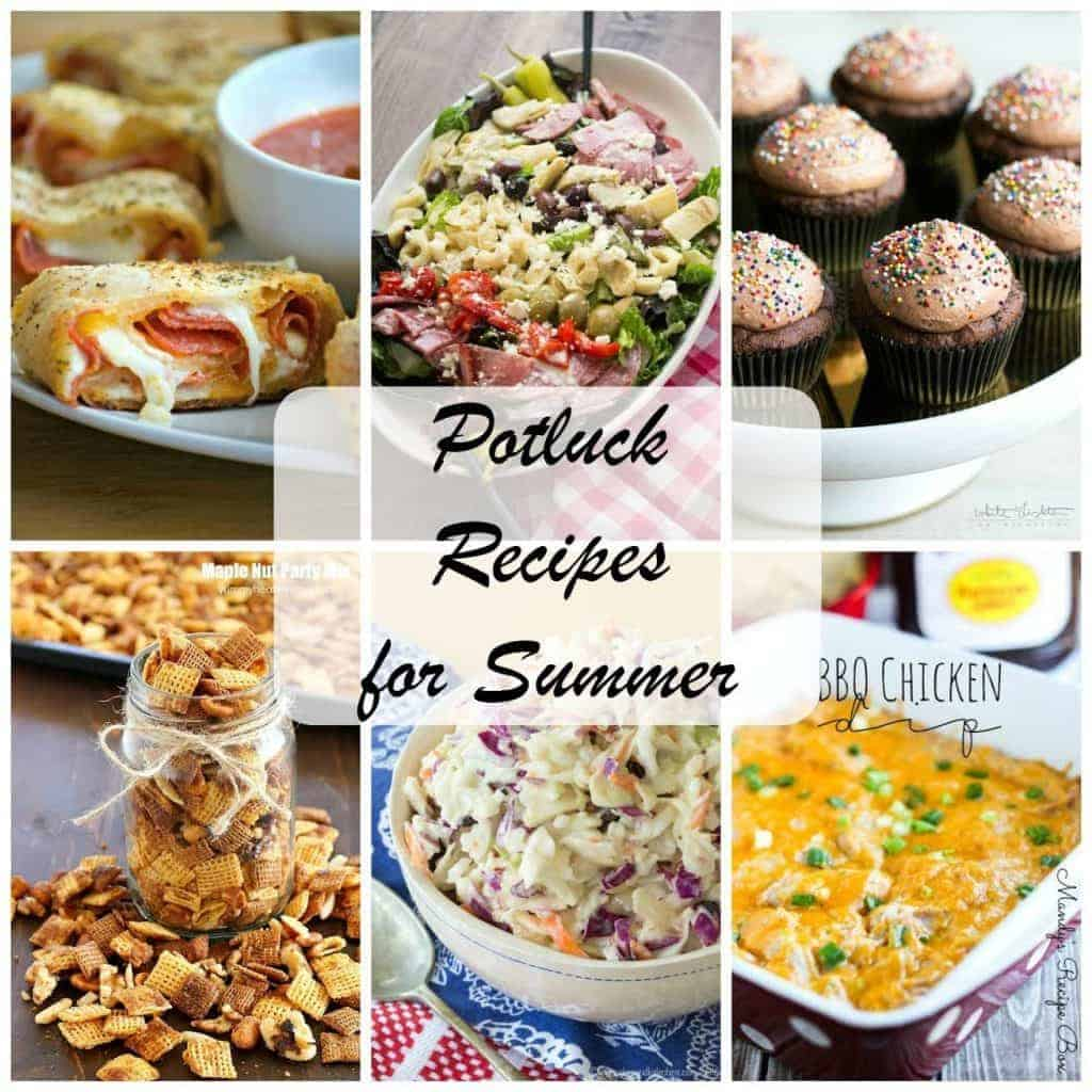 Best Potluck Recipes for Summer | Terrific recipes to feed a crowd from my food blogger friends