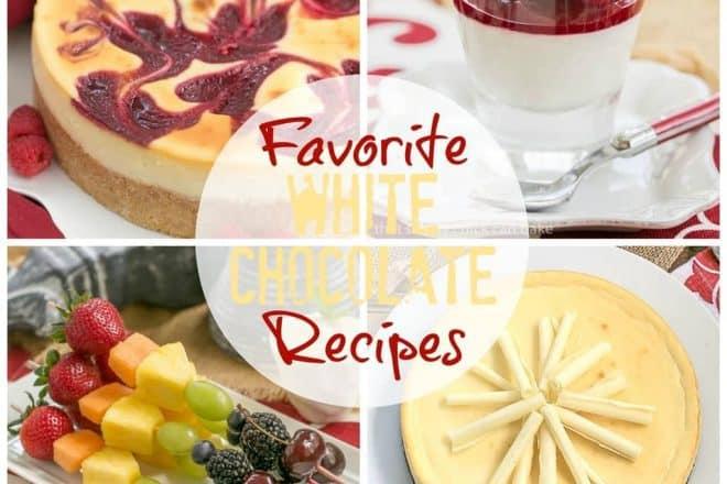 Favorite White Chocolate Recipes