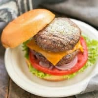 Grilled Butter burgers featured image