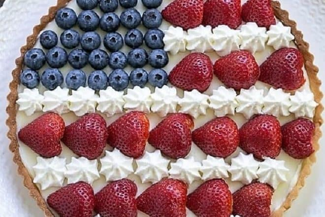 American Flag Fruit Tart featured image