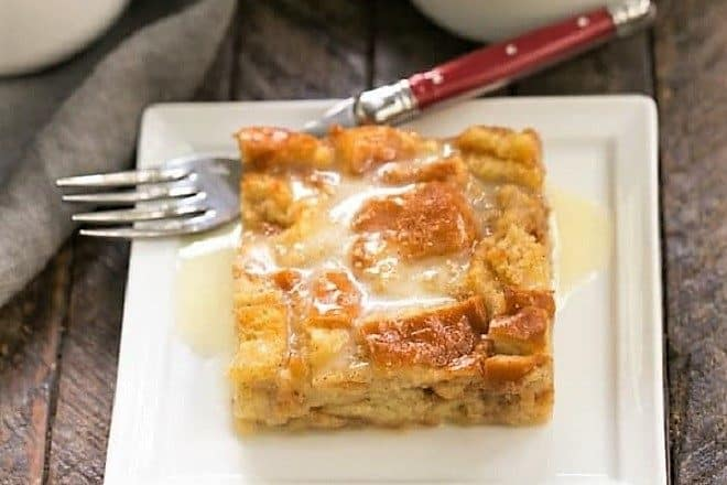 Cinnamon Bread Pudding with Whiskey Sauce featured image