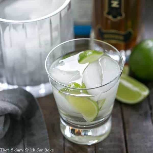 St. Germain Gin and Tonic Cocktail