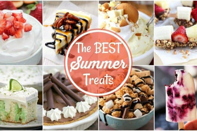 Best Summer Dessert Recipes | Fabulous Summer Sweets and Treats from my favorite bloggers!