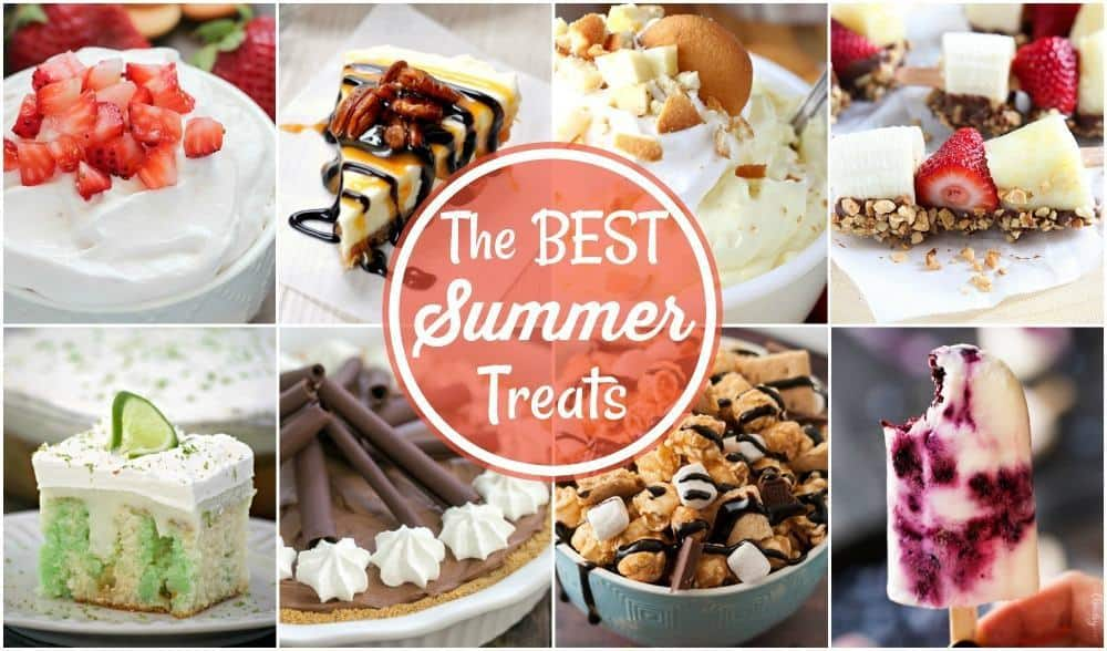 Best Summer Dessert Recipes collage
