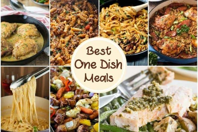 Best One Dish Meals | Delicious easy dinner recipes for back to school