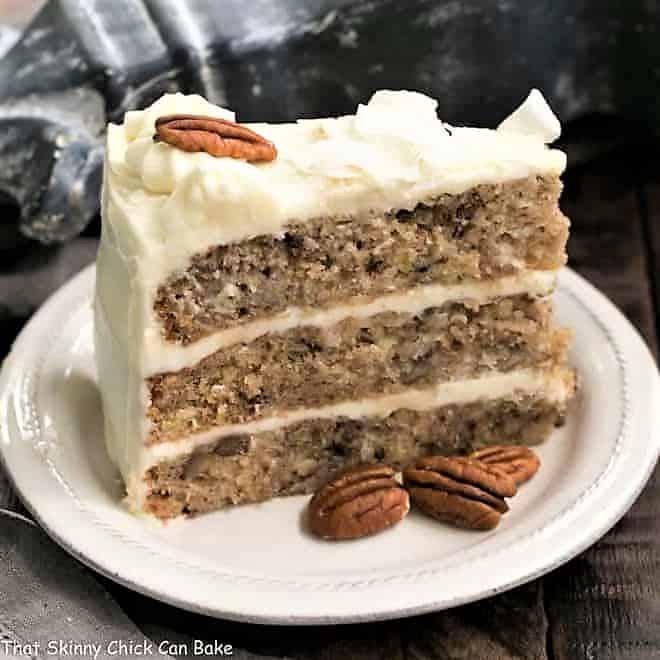 Classic Hummingbird Cake with Coconut