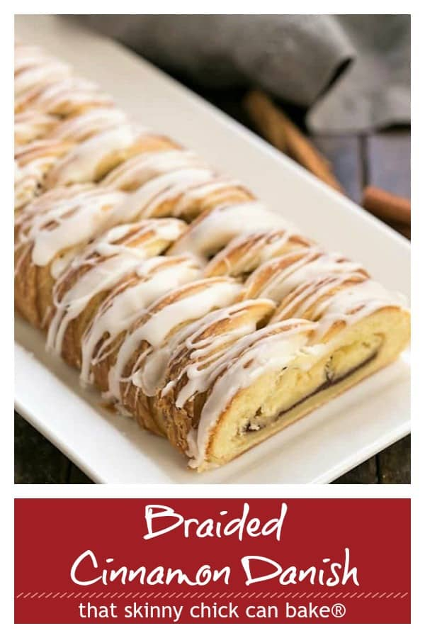 Braided Cinnamon Danish pinterest collage