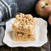 Caramel Apple Pie Toffee Bars featured image
