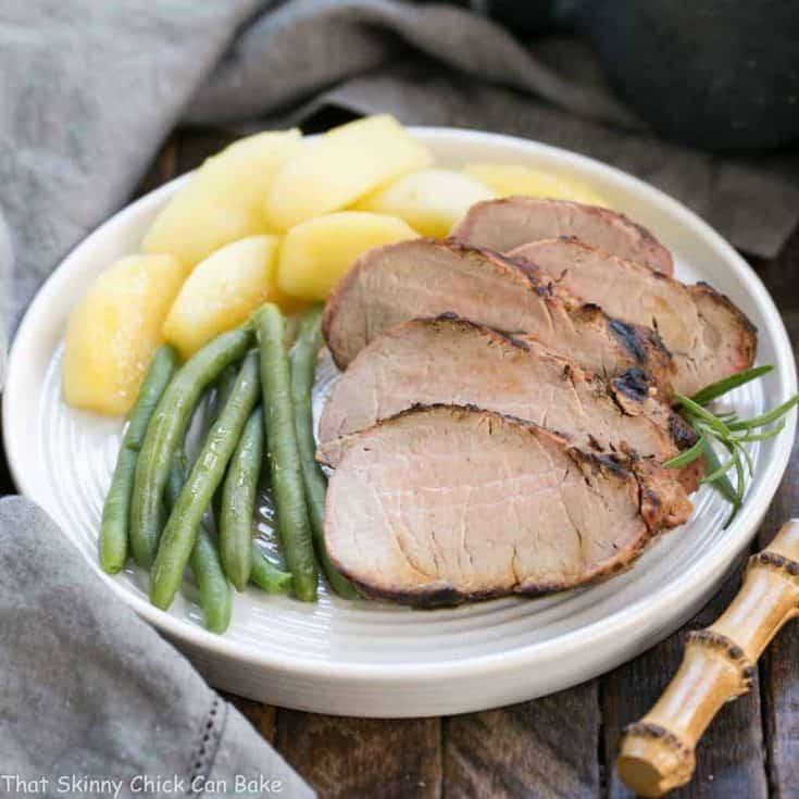 Maple Grilled Pork Tenderloin | A ridiculously delicious pork marinade!