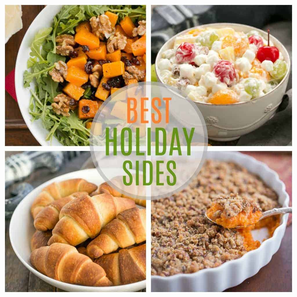 Best Holiday Side Dishes   Fabulous, festive side dishes perfect for company or holidays!