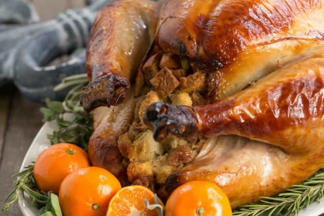 Honey Brined Turkey Recipe| The perfect way to get succulent meat from your holiday turkey