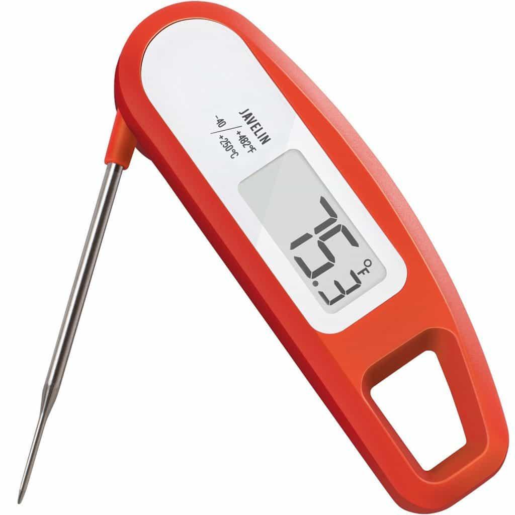 Lavatools Instant Read Digital Thermometer