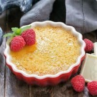 White Chocolate Creme Brulee featured image
