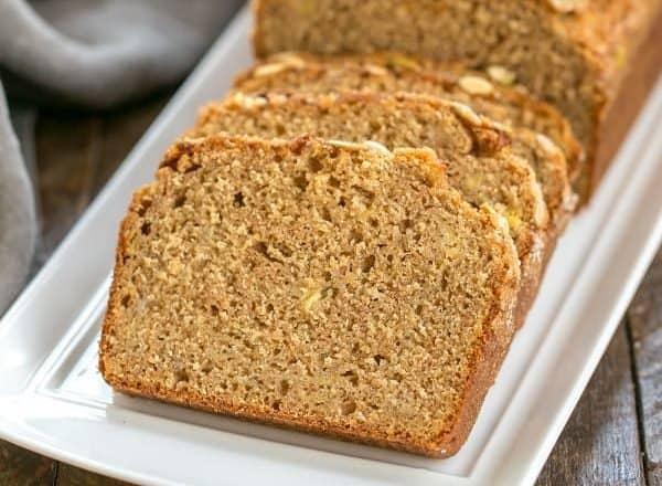 Seed-Topped Whole Wheat Banana Bread