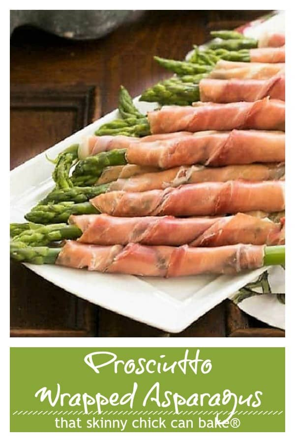 Prosciutto Wrapped Asparagus with Boursin Pinterest collage