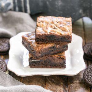 Chocolate Oreo Gooey Bars