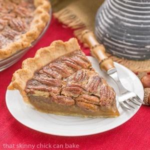 Boozy Pecan Pie for Thanksgiving