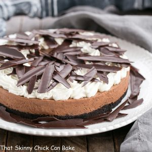 Easy Chocolate Mousse Tart
