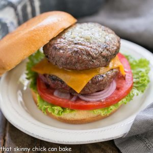 Grilled Butter Burgers