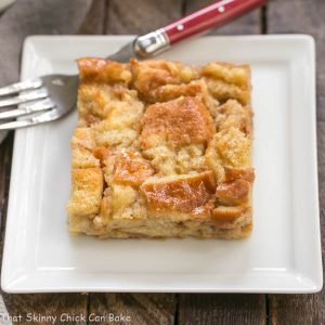 Cinnamon Bread Pudding with Whiskey Sauce