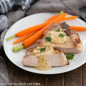 Pork Chops Dijonnaise