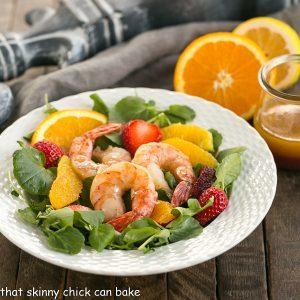 Shrimp & Orange Salad with Citrus Vinaigrette
