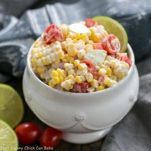 Spicy Mexican Corn Salad