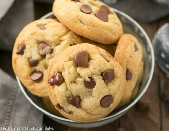 Double Chocolate Chip Cookies - chewy with milk and semisweet chocolate chips!