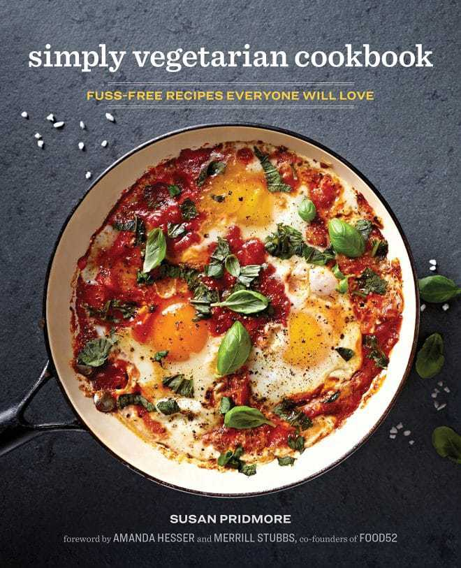 Simply Vegetarian Cookbook cover