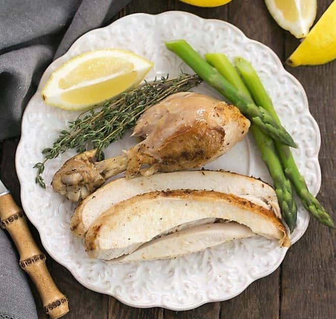 Instant Pot Rotisserie Chicken - Moist, tender, fl