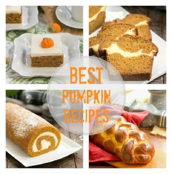 Best Pupmpkin Recipes Square Collage