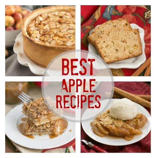 Favorite Apple Recipes collage