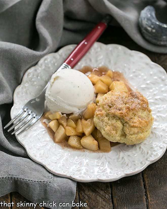 Old-Fashioned Apple Cobbler