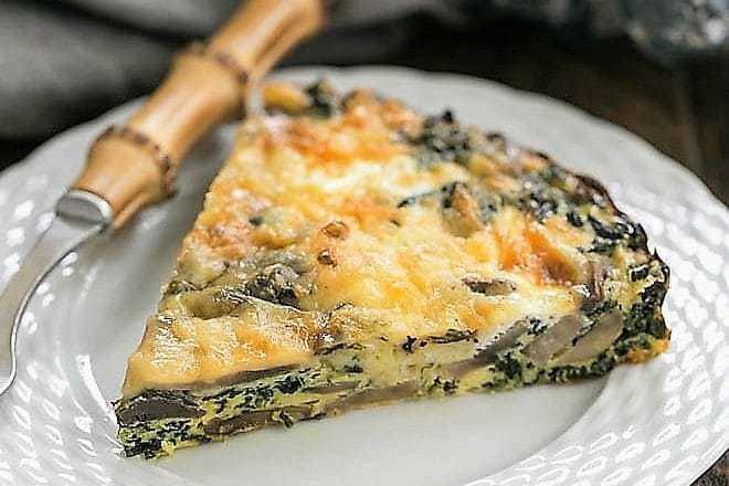 Crustless Spinach Quiche featured image