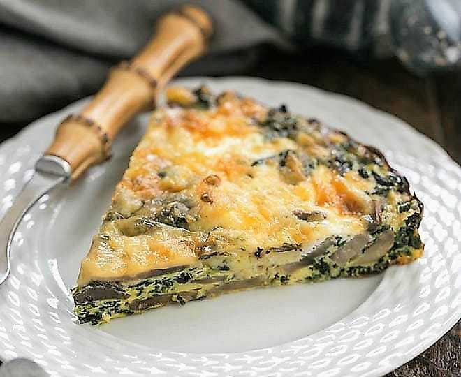 Crustless Spinach Quiche featured image