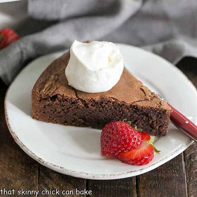 Torta Caprese or Italian Flourless Chocolate Cake