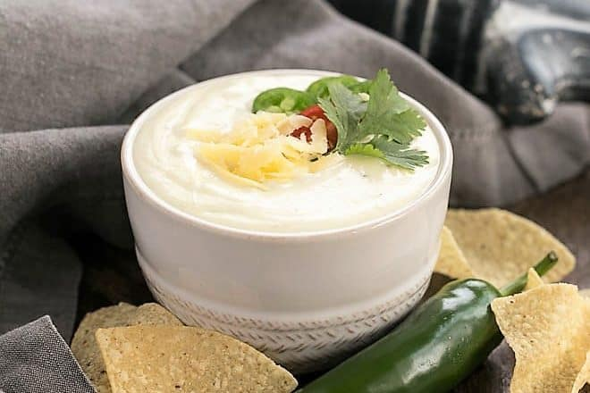 Easy Homemade Queso Dip featured image