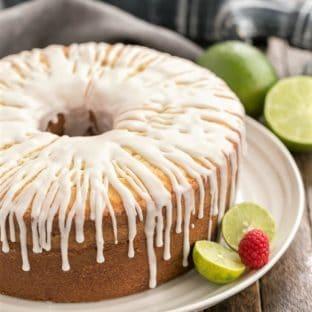 Key Lime Pound Cake Featured Image