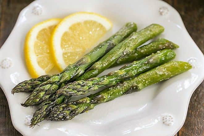 Easy Oven Roasted Asparagus That Skinny Chick Can Bake