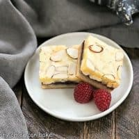 Raspberry Filled White Chocolate Bars featured image