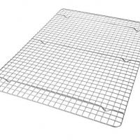 USA Pan 1603CR X-Large Bakeable Nonstick Cooling Rack, 19.75 x 13.625-Inches