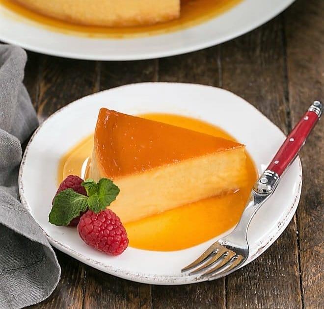 Cream Cheese Caramel Flan