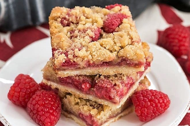 Raspberry bars featured image