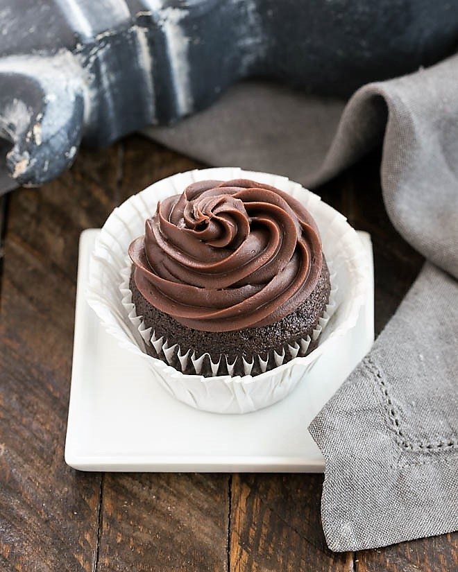 Chocolate Blender Cupcakes featured image