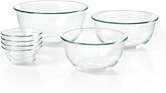 Set of Glass Mixing Bowls